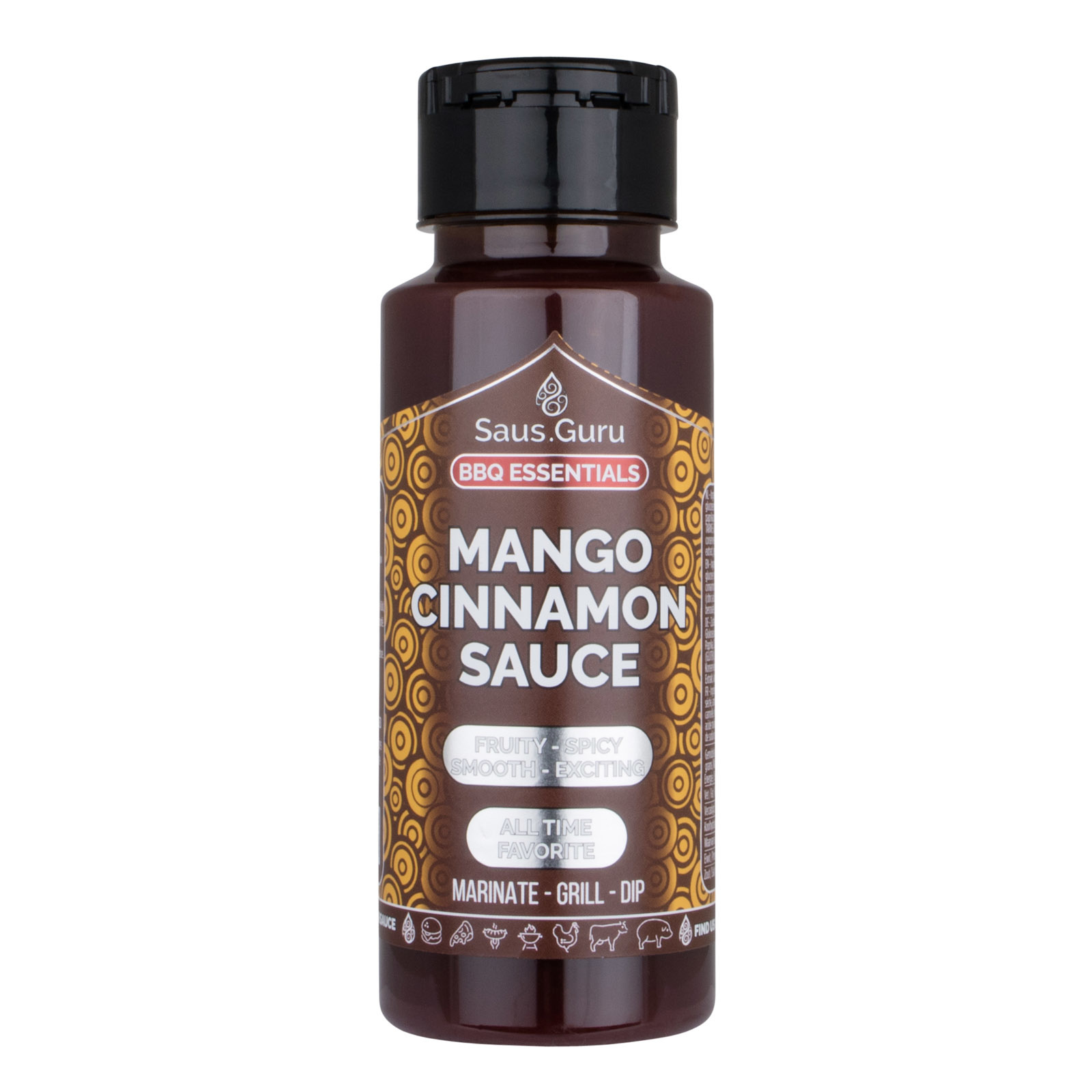 Saus.Guru's Mango Cinnamon BBQ Sauce-1