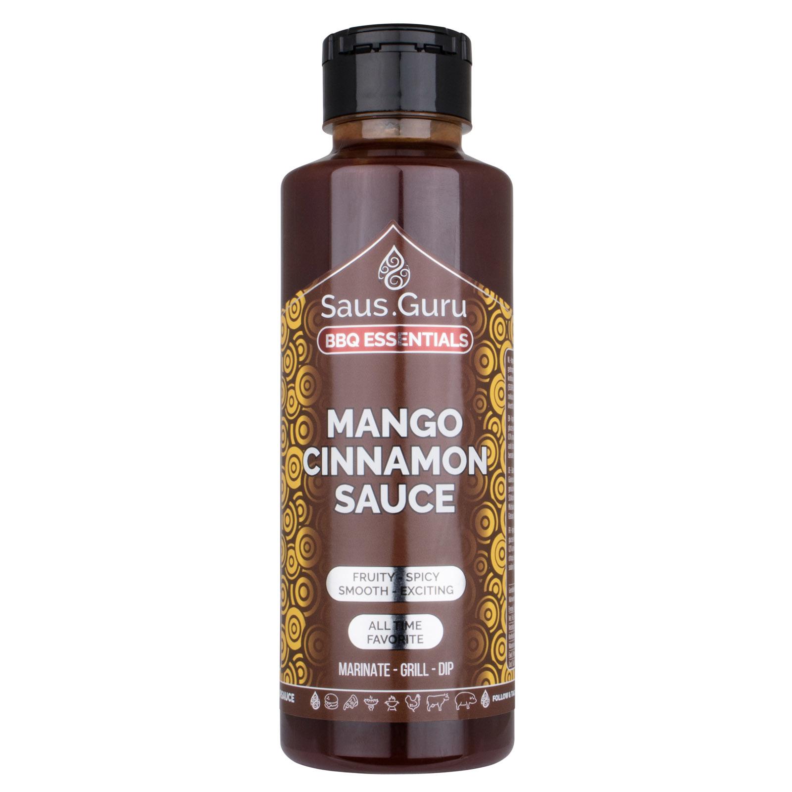 Saus.Guru's Mango Cinnamon BBQ Sauce-2