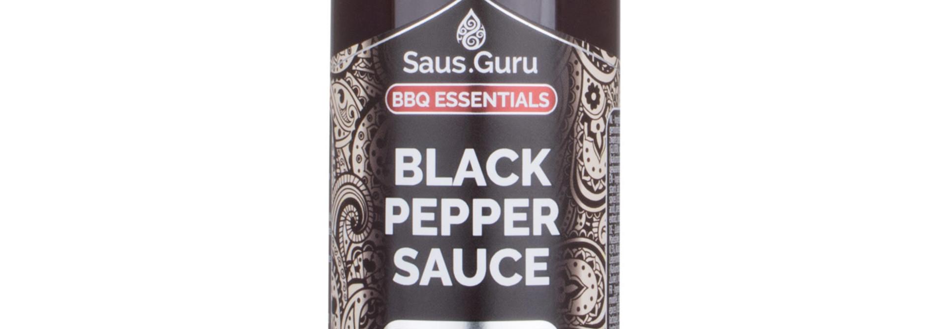 Saus.Guru's Black Pepper BBQ Sauce