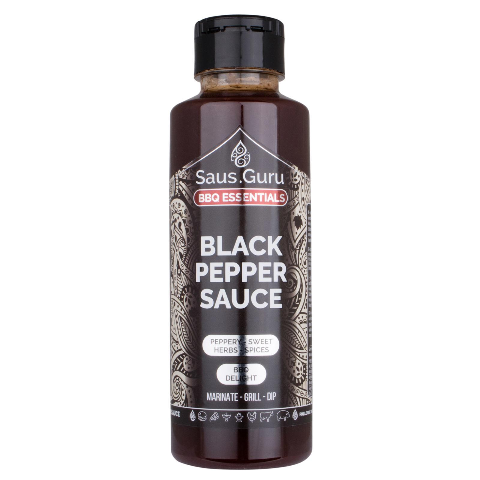 Saus.Guru's Black Pepper BBQ Sauce-2