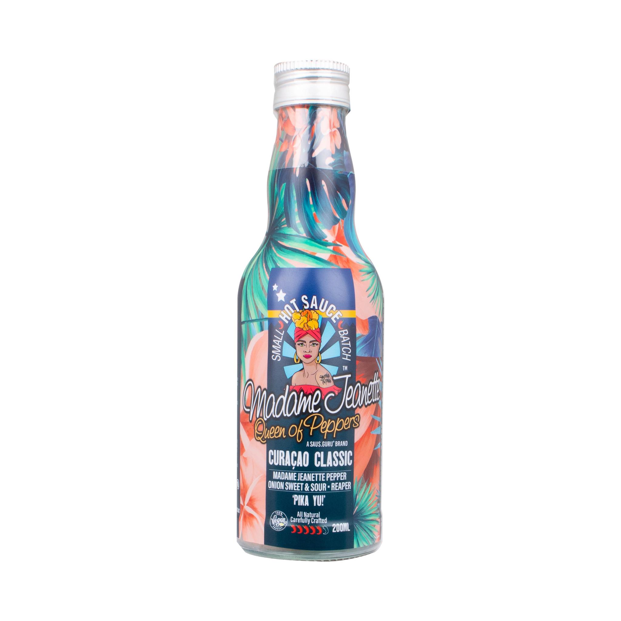 Madame Jeanette Hot Sauce™️ - Curaçao Classic 200ml Glass Bottle-1