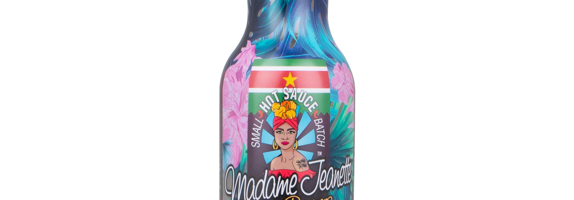Madame Jeanette Hot Sauce™️- Surinam Soul 200ml Glass Bottle