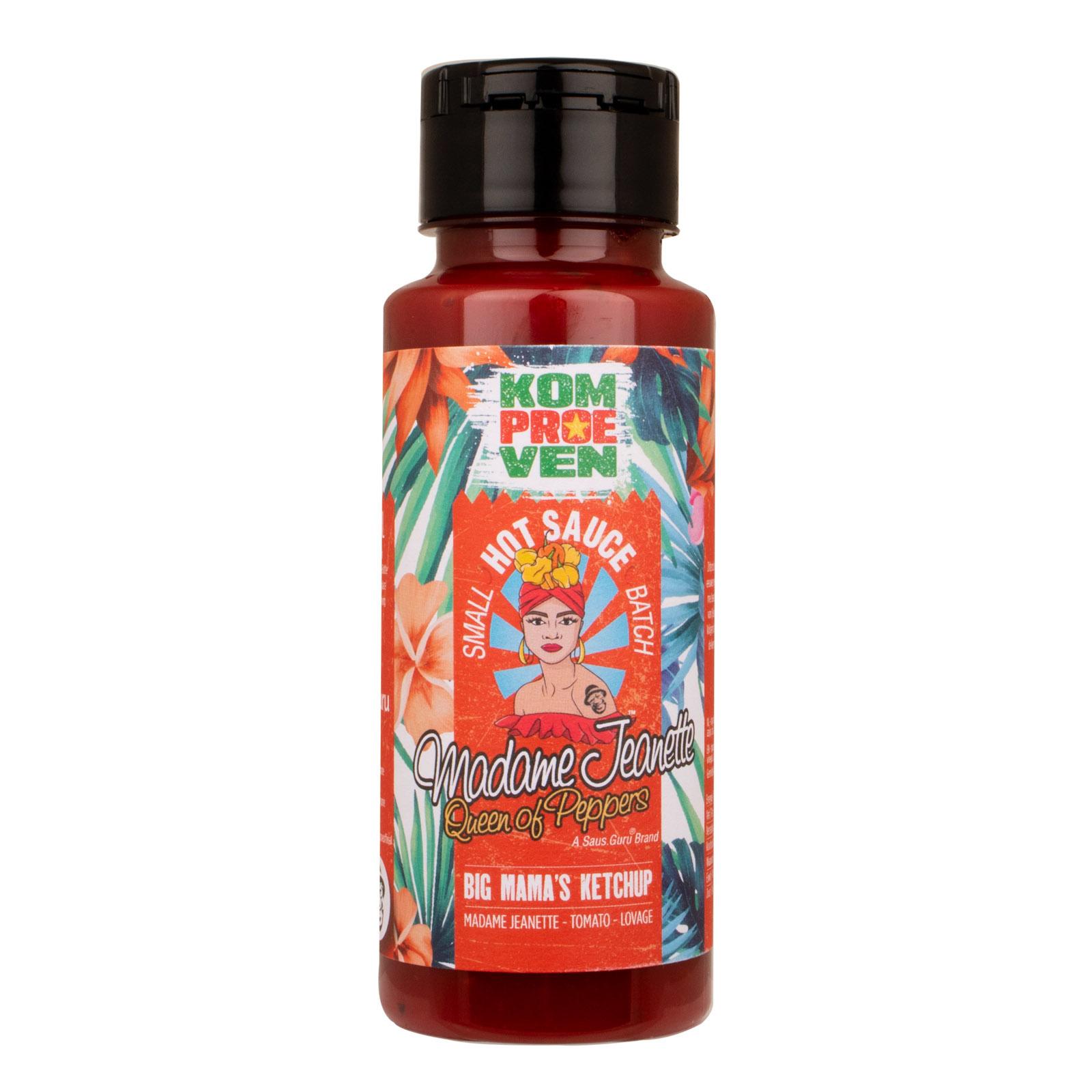 Komproeven X Madame Jeanette™ - Big Mama's Ketchup 250ml-1