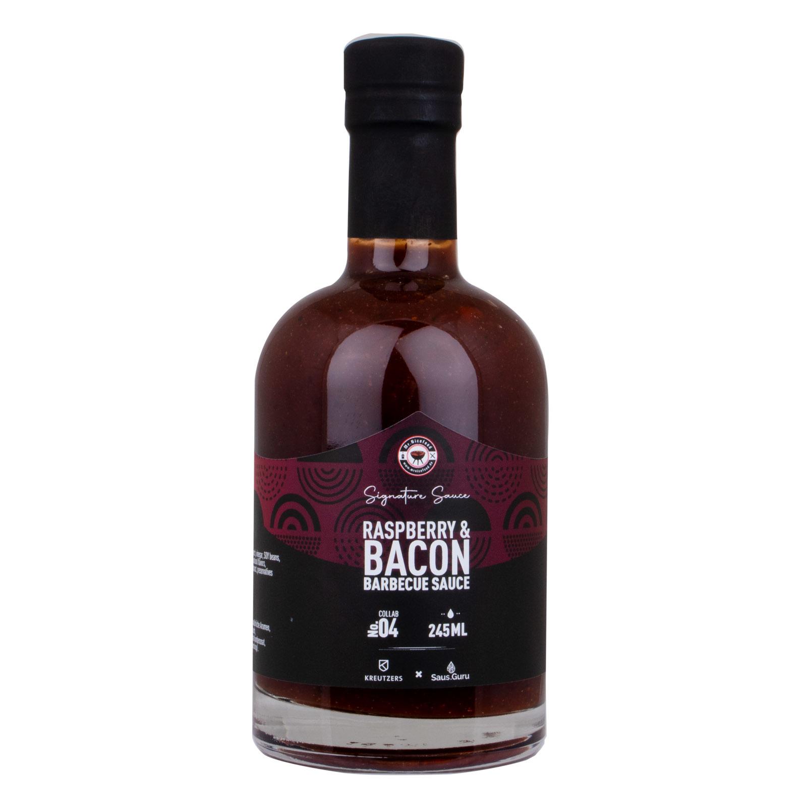 Mr.Nicefood's Raspberry & Bacon BBQ Sauce-1