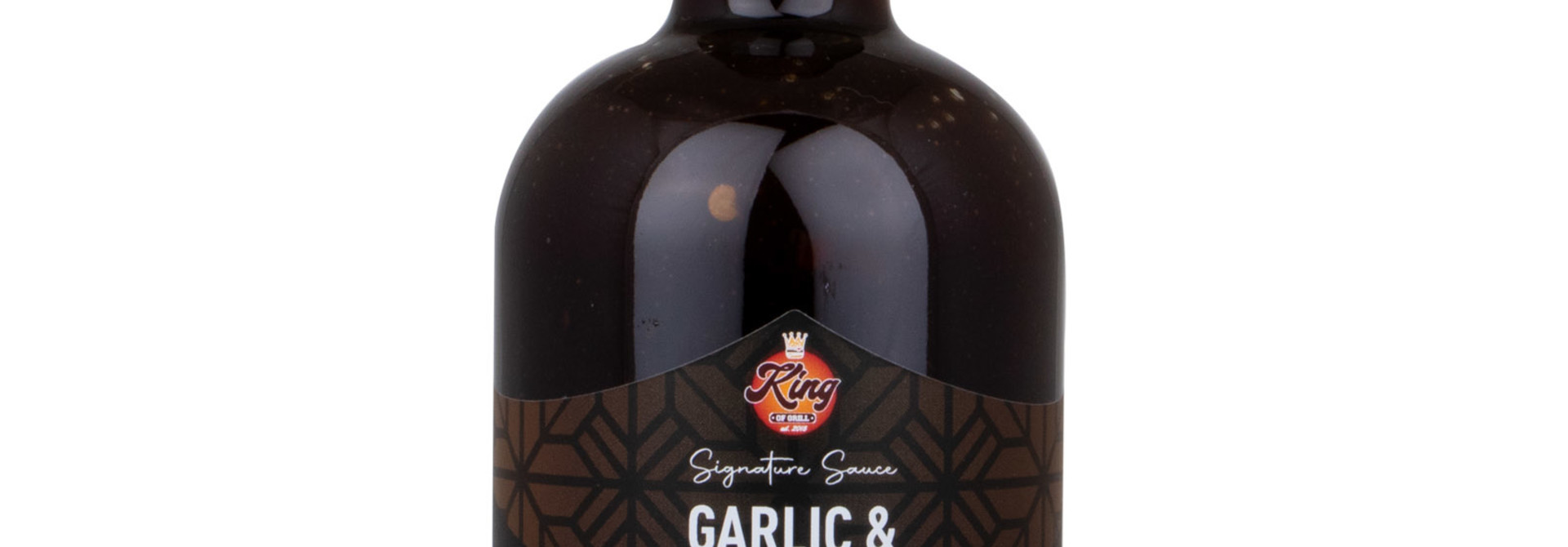 King Of Grill's Garlic & Coffee BBQ Sauce