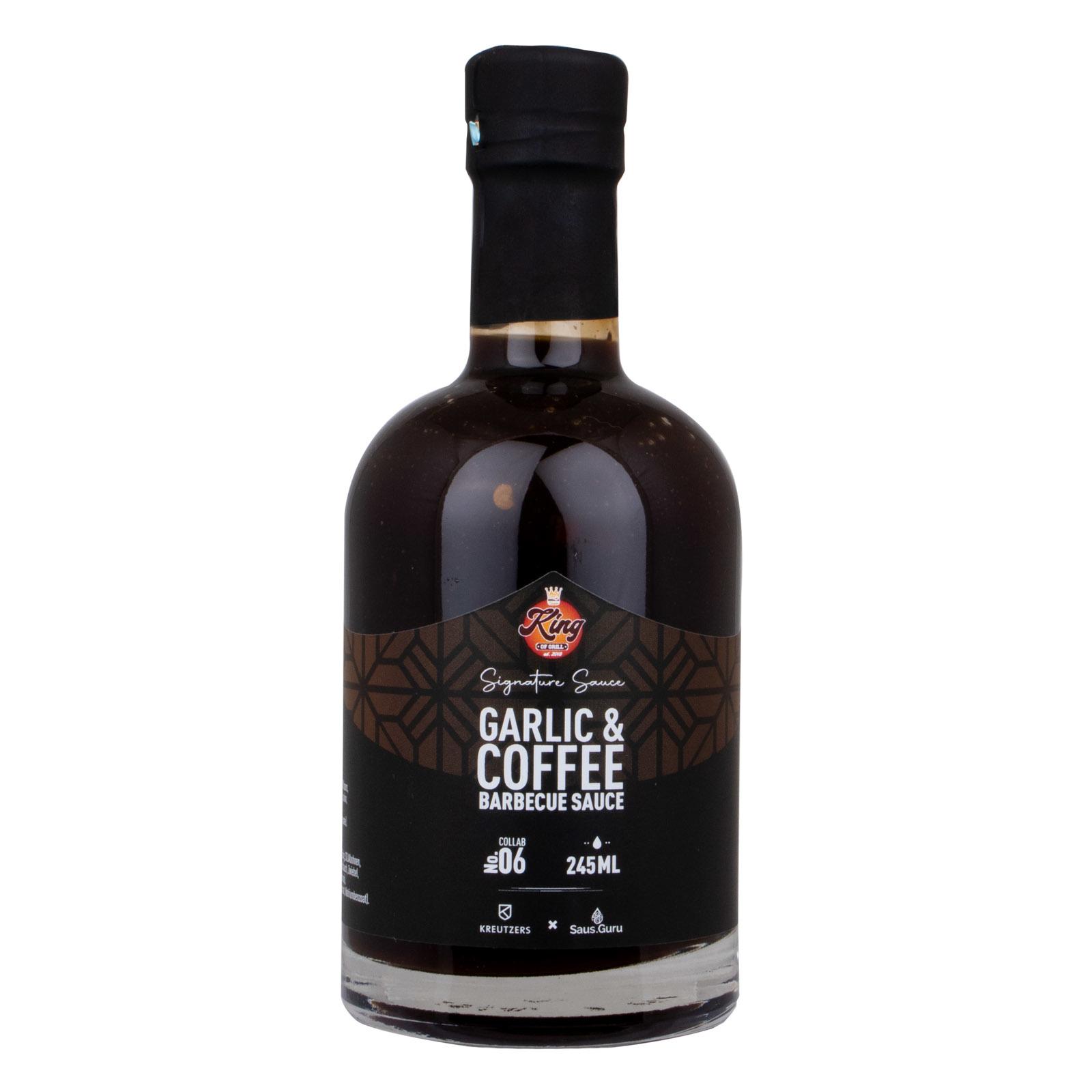 King Of Grill's Garlic & Coffee BBQ Sauce-1