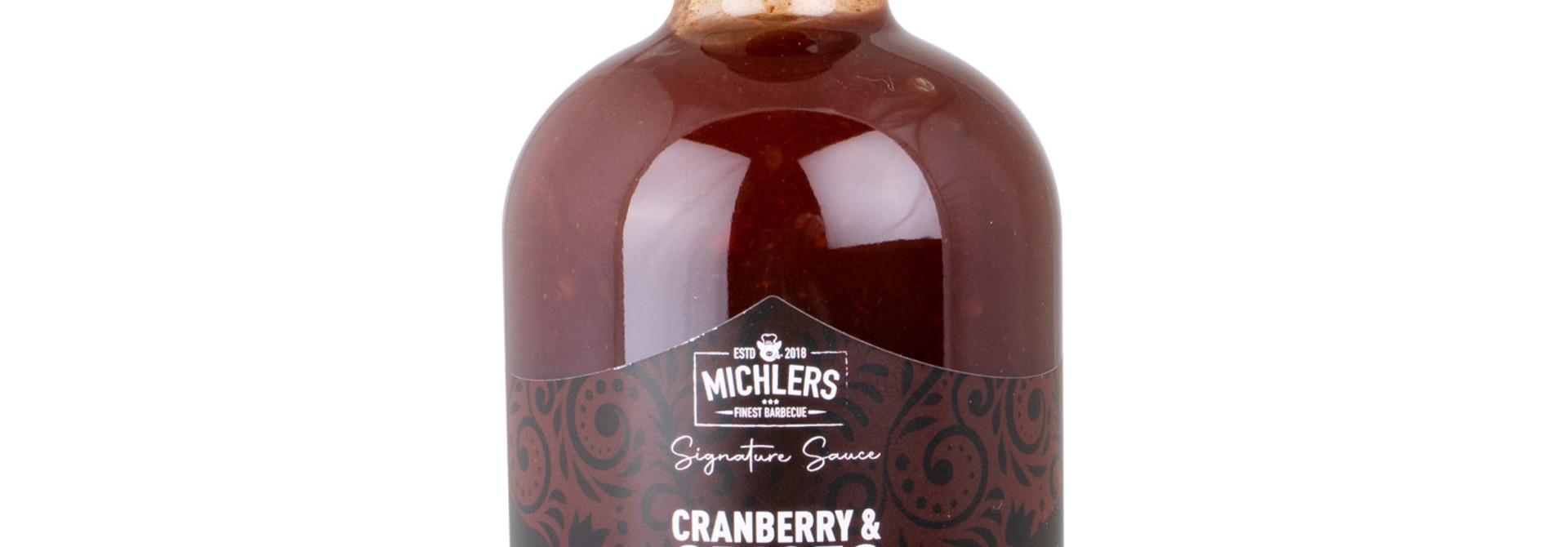 Michler's Finest - Cranberry & Spices BBQ Sauce