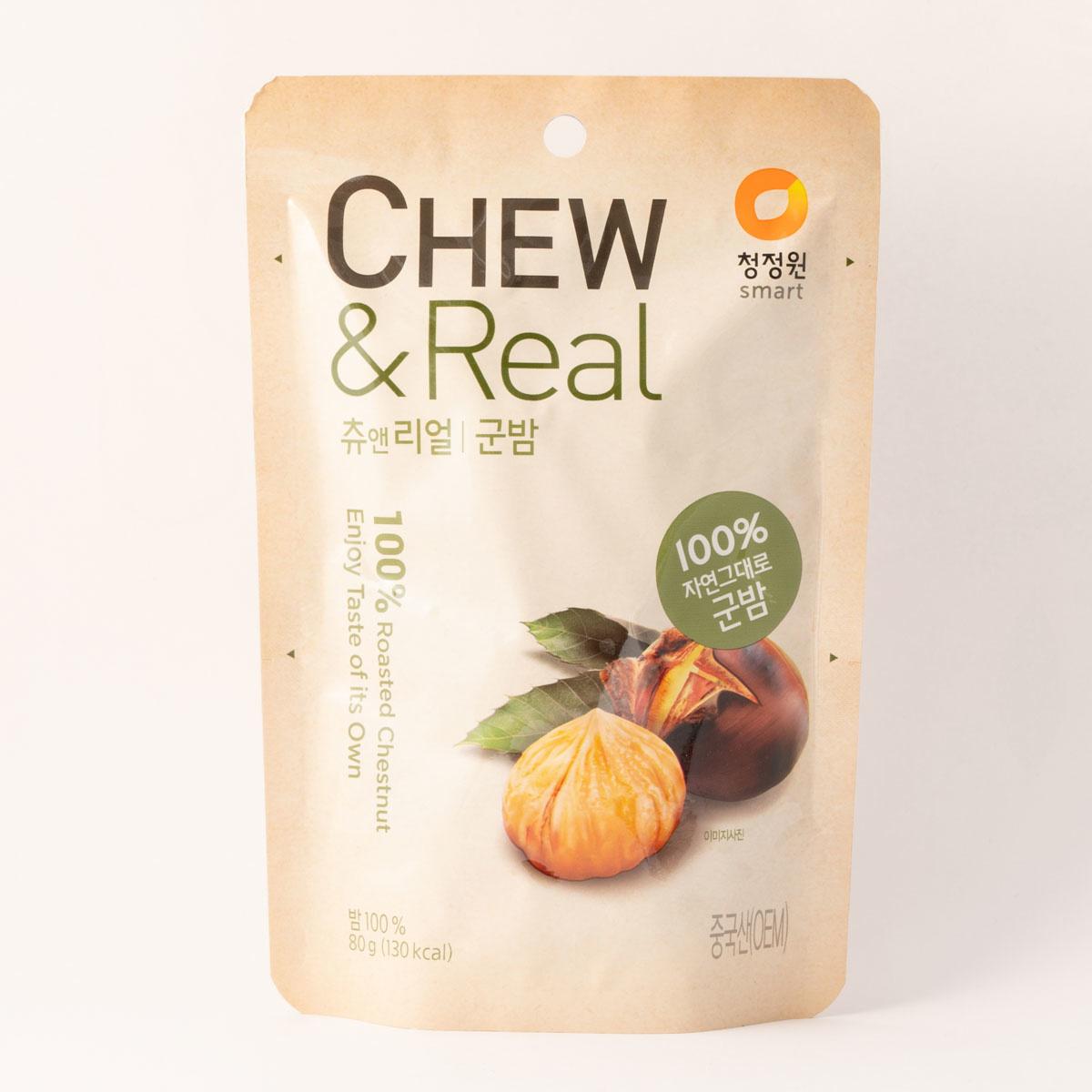 Chew & Crispy Kastanje