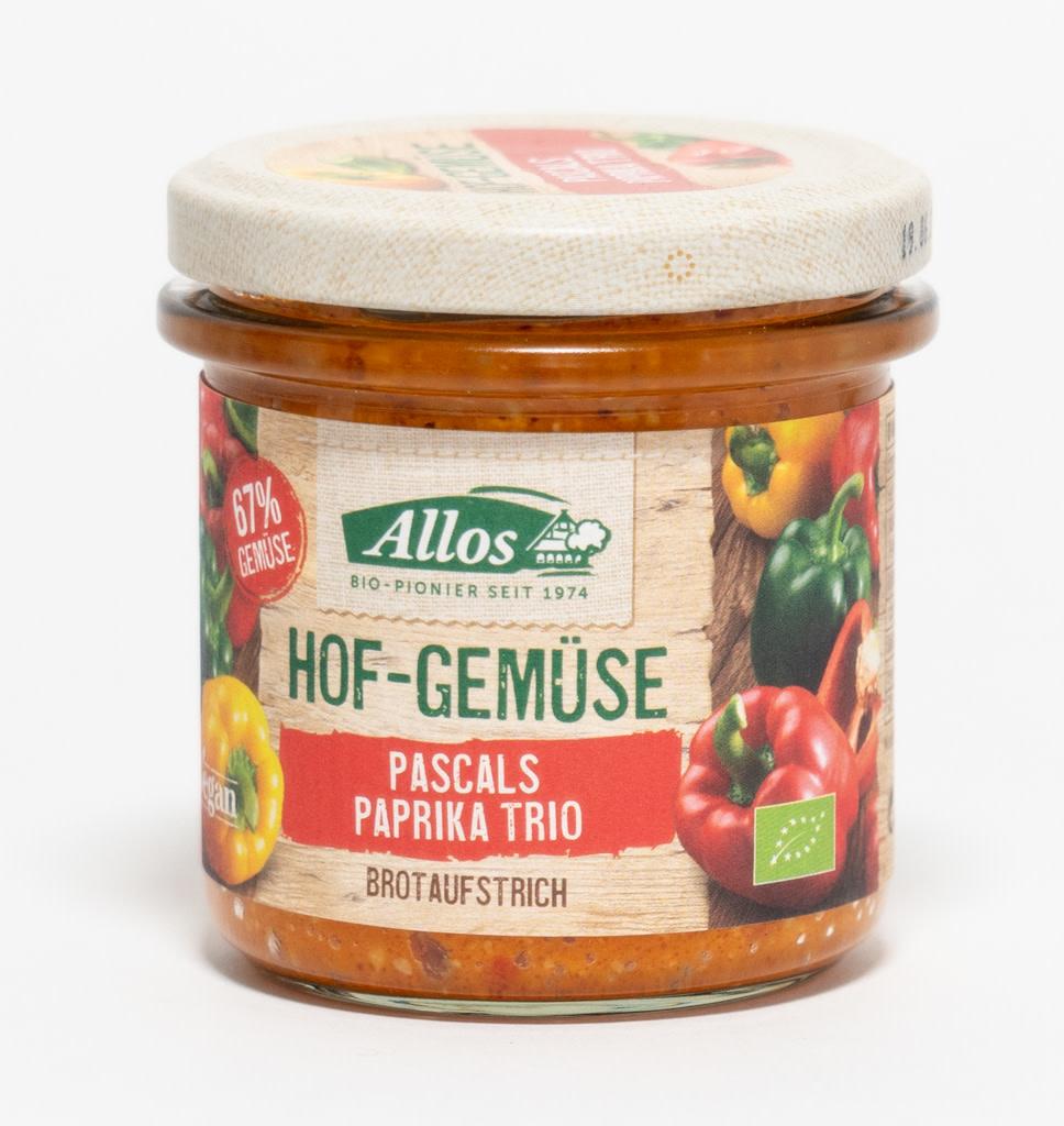 ALLOS Allos Vegetables Pascal PaprikaTrio Spread