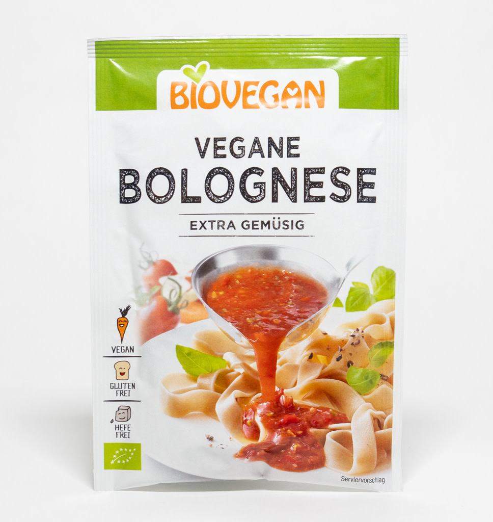 BIOVEGAN Biovegan Bolognese Saus