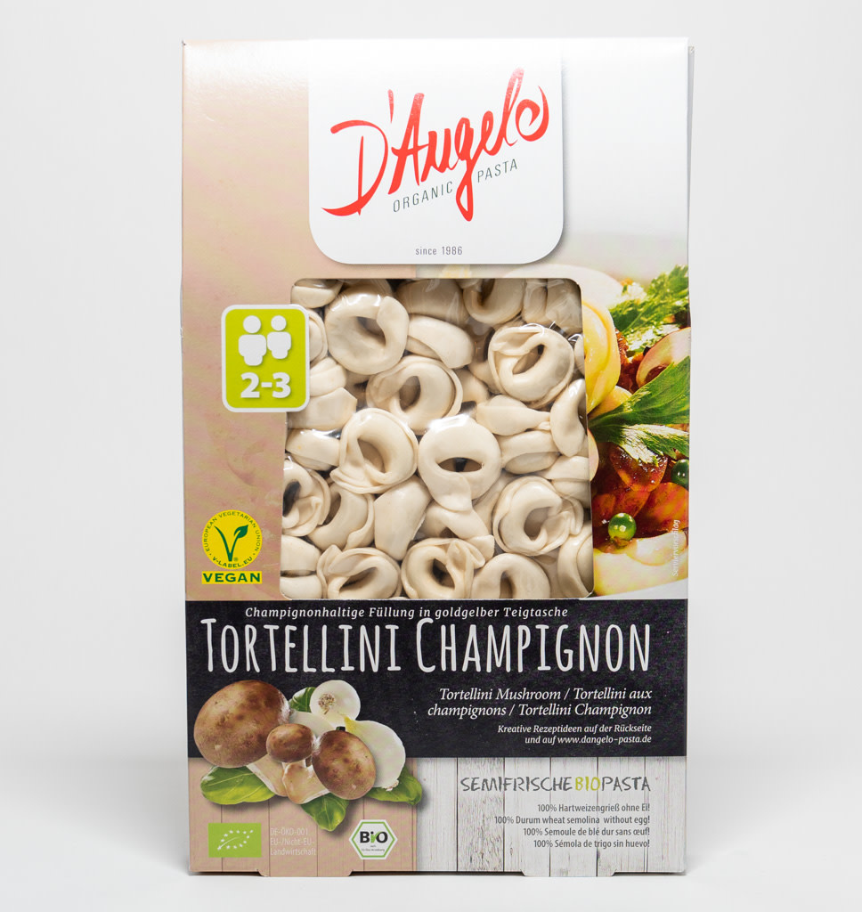 D'ANGELO D'Angelo Tortellini Button Mushrooms