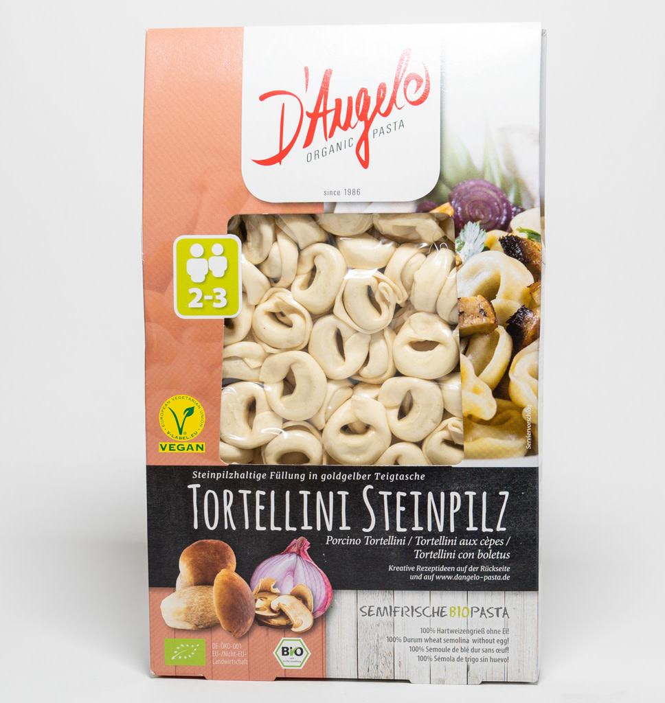 D'ANGELO D'Angelo Tortellini Porcini Mushrooms