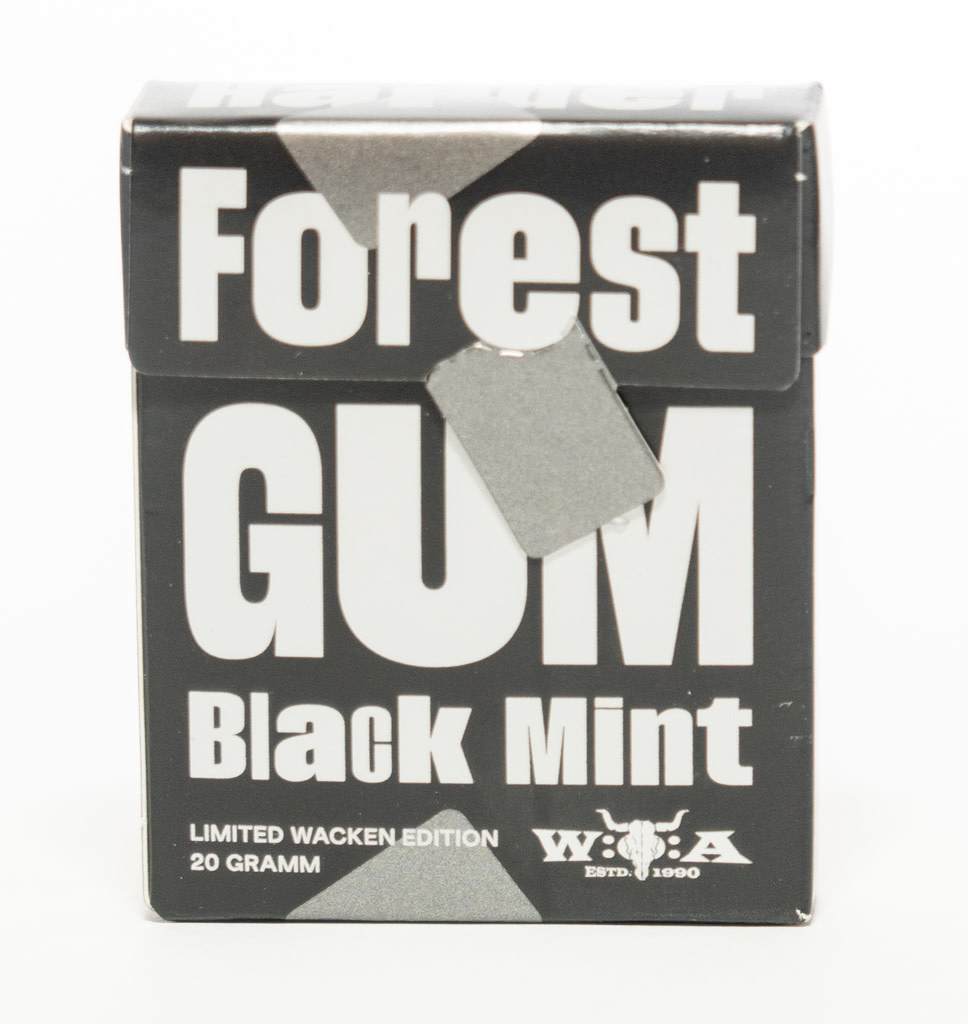 FOREST GUM FOREST GUM Black Mint Kauwgom