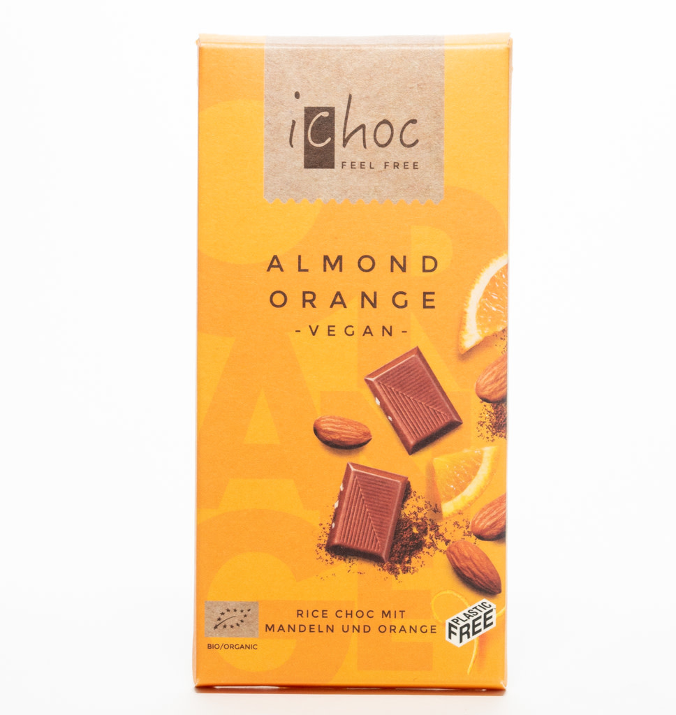 iCHOC iChoc Amandel-Sinaasappel Chocolade