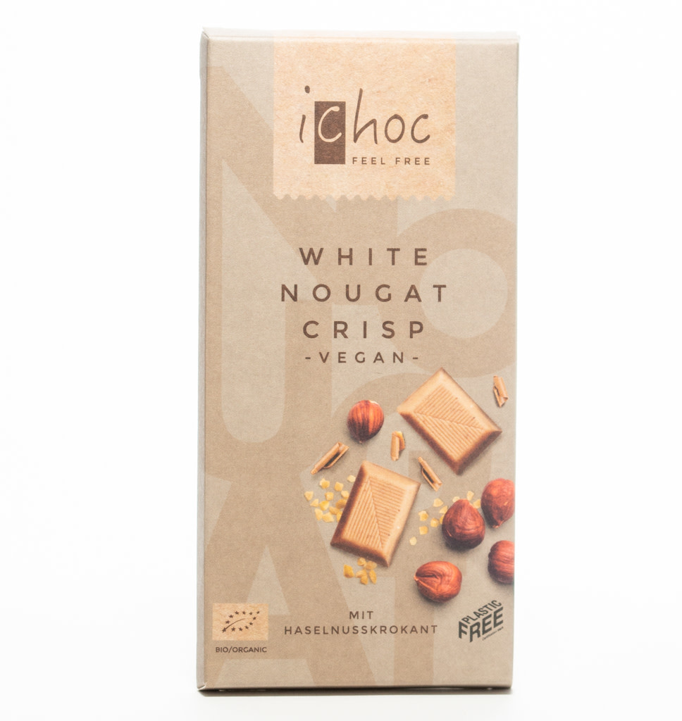 iCHOC iChoc Witte Nougat Knapperige Chocolade