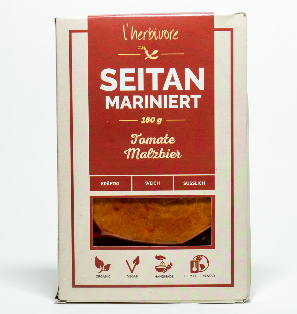 L'HERBIVORE L'Herbivore Seitan Gemarineerd met Tomaten & Maltbier