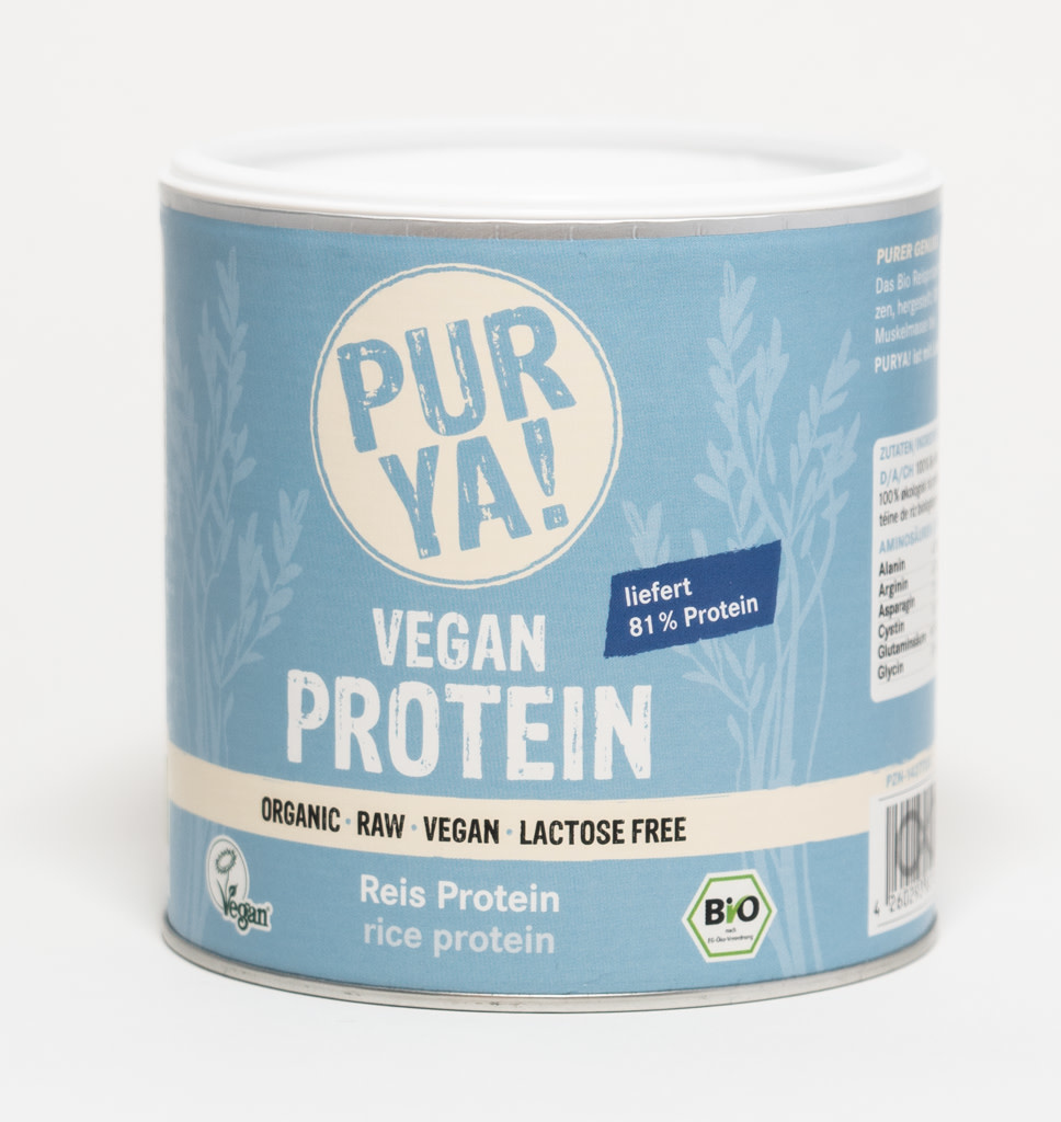 PurYa! PurYa! Rijst Proteïne 250g
