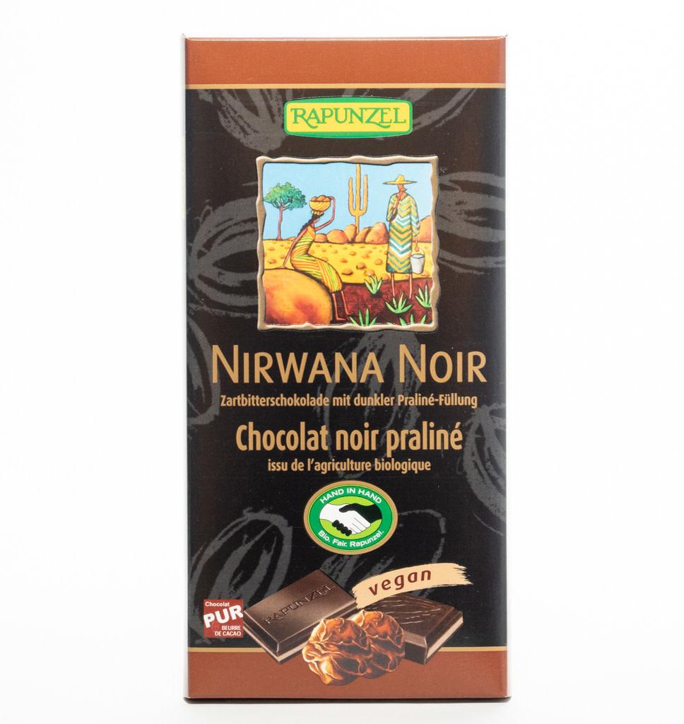 RAPUNZEL RAPUNZEL Nirwana Noir Pure Chocolade met Praline Vulling