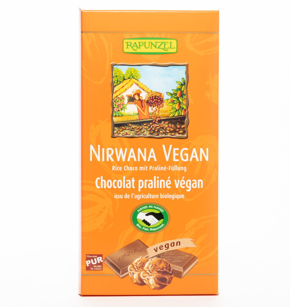 RAPUNZEL RAPUNZEL Nirwana Vegan Met Truffel Vulling