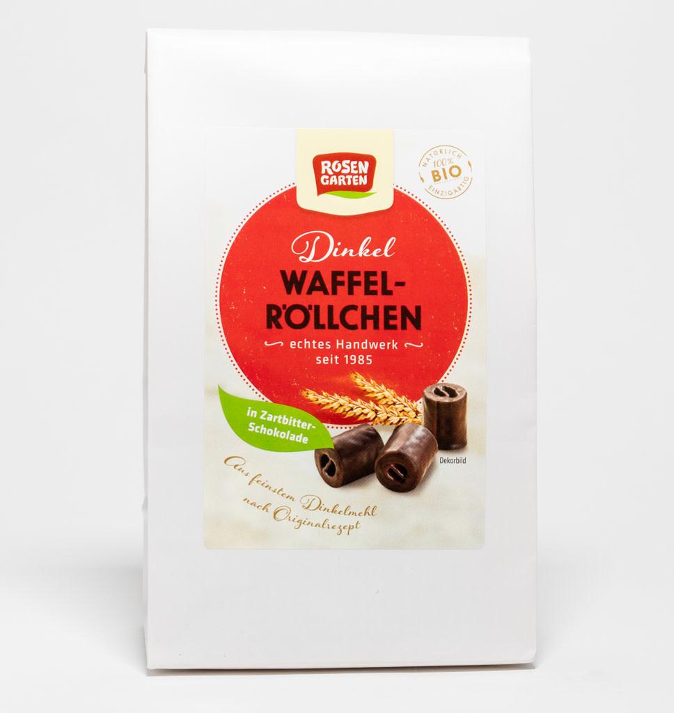ROSEN GARTEN ROSENGARTEN Pure Chocolade Spelt Wafel