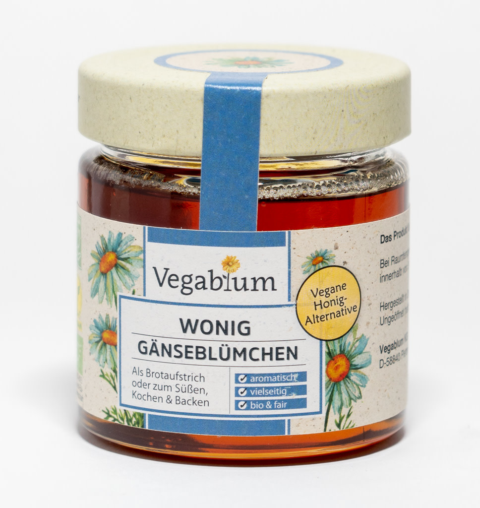 VEGABLUM VEGABLUM  Vegan Honing - Madelief Smaak