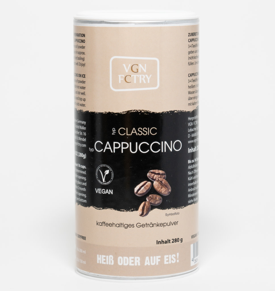VGN FCTRY VGN FCTRY Cappuccino Klassiek