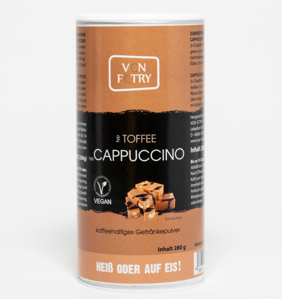 VGN FCTRY VGN FCTRY Cappuccino Toffee