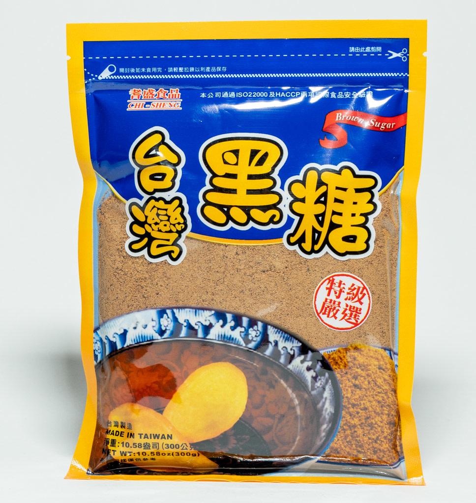 Chi Sheng Bruine Suiker
