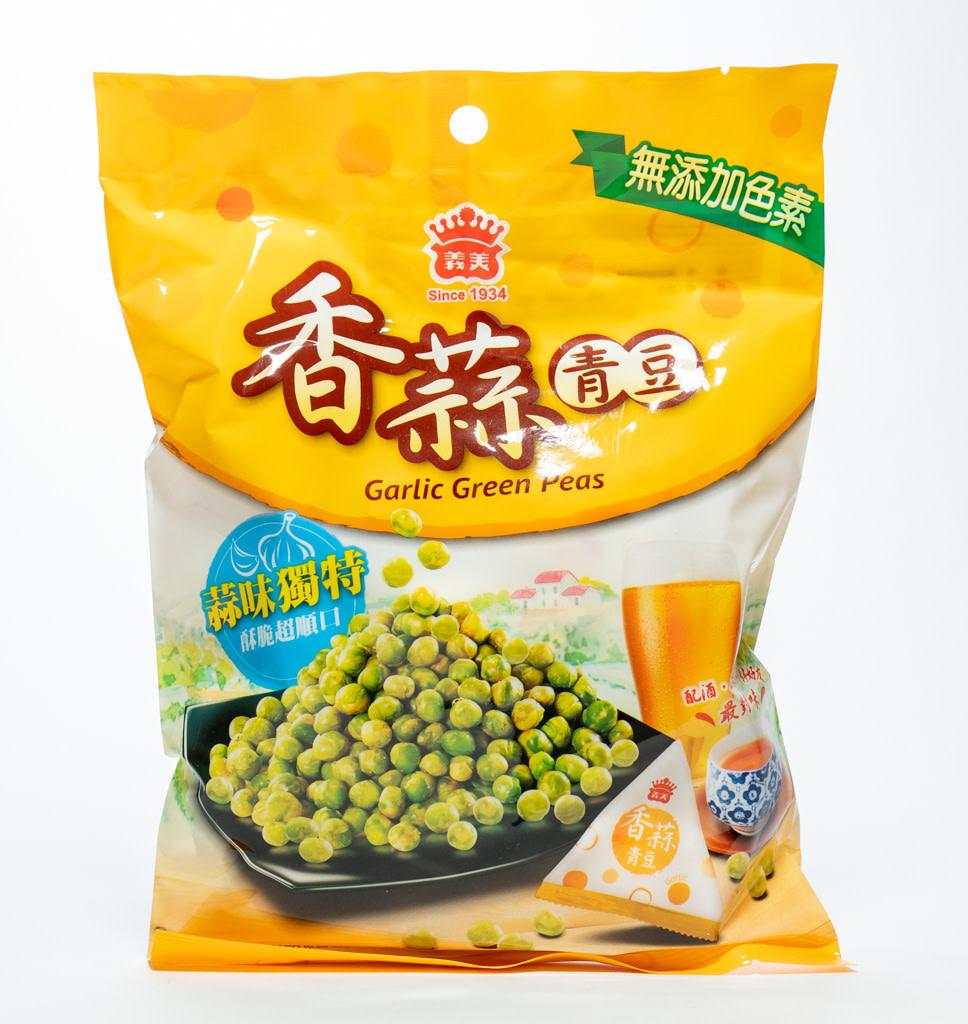 I MEI I MEI Geroosterde Groene Erwten met Knoflook smaak