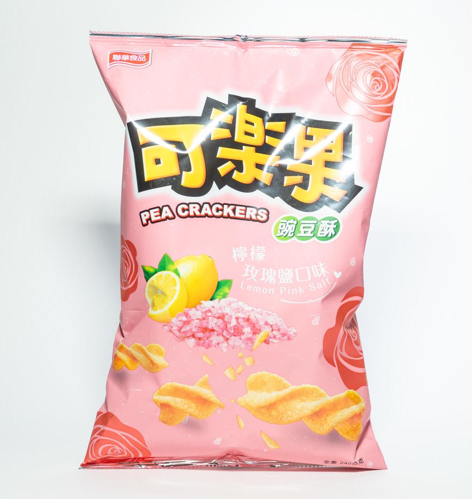 LIAN HWA Lian Hwa Erwten Crackers Citroen Roze Zout