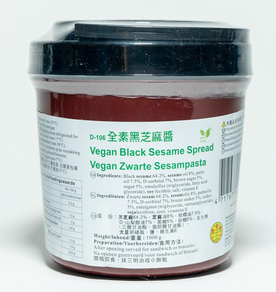 GOURMET'S VEGI GOURMET'S VEGI Vegan Zwarte Sesam Pasta