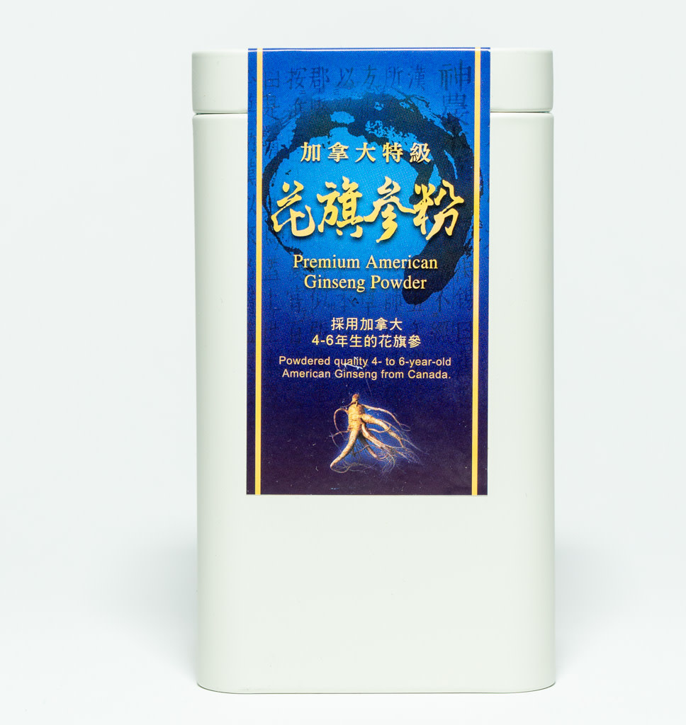 TAIPEI ACUPUNCTURE You Ho Shop Premium Canadees Ginseng Poeder