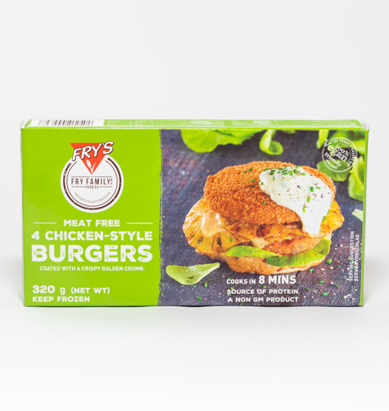 FRY'S Fry's Chicken Style Burger
