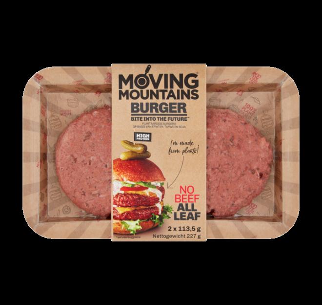 MOVING MOUNTAINS Moving Mountains Burger