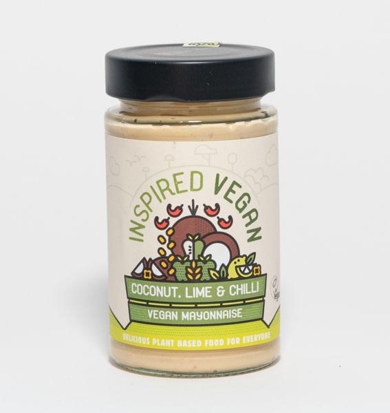 INSPIRED VEGAN Inspired Vegan Kokosnoot Limoen & Chili Mayo