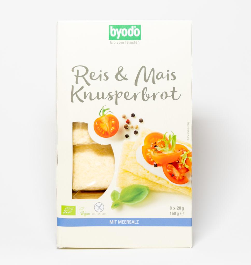 BYODO BYODO Vegan Crisp Crackers Van Rijst & Maïs