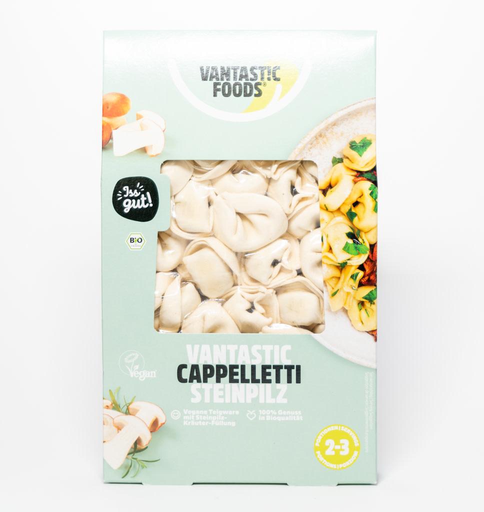 VANTASTIC FOODS Vantastic Foods Cappelletti Porcini Funghi