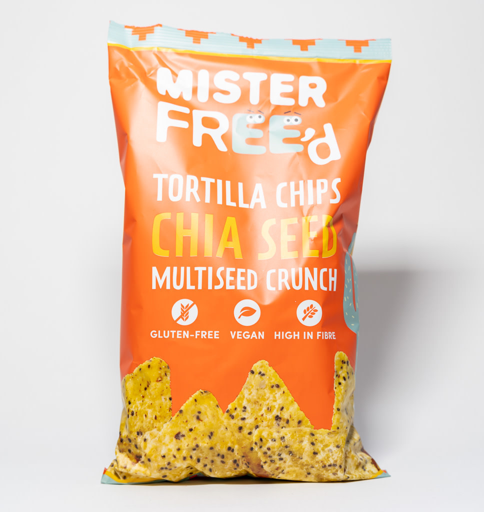 MISTER FREE'd MISTER FREE'd Tortilla Chips - Chia Seeds