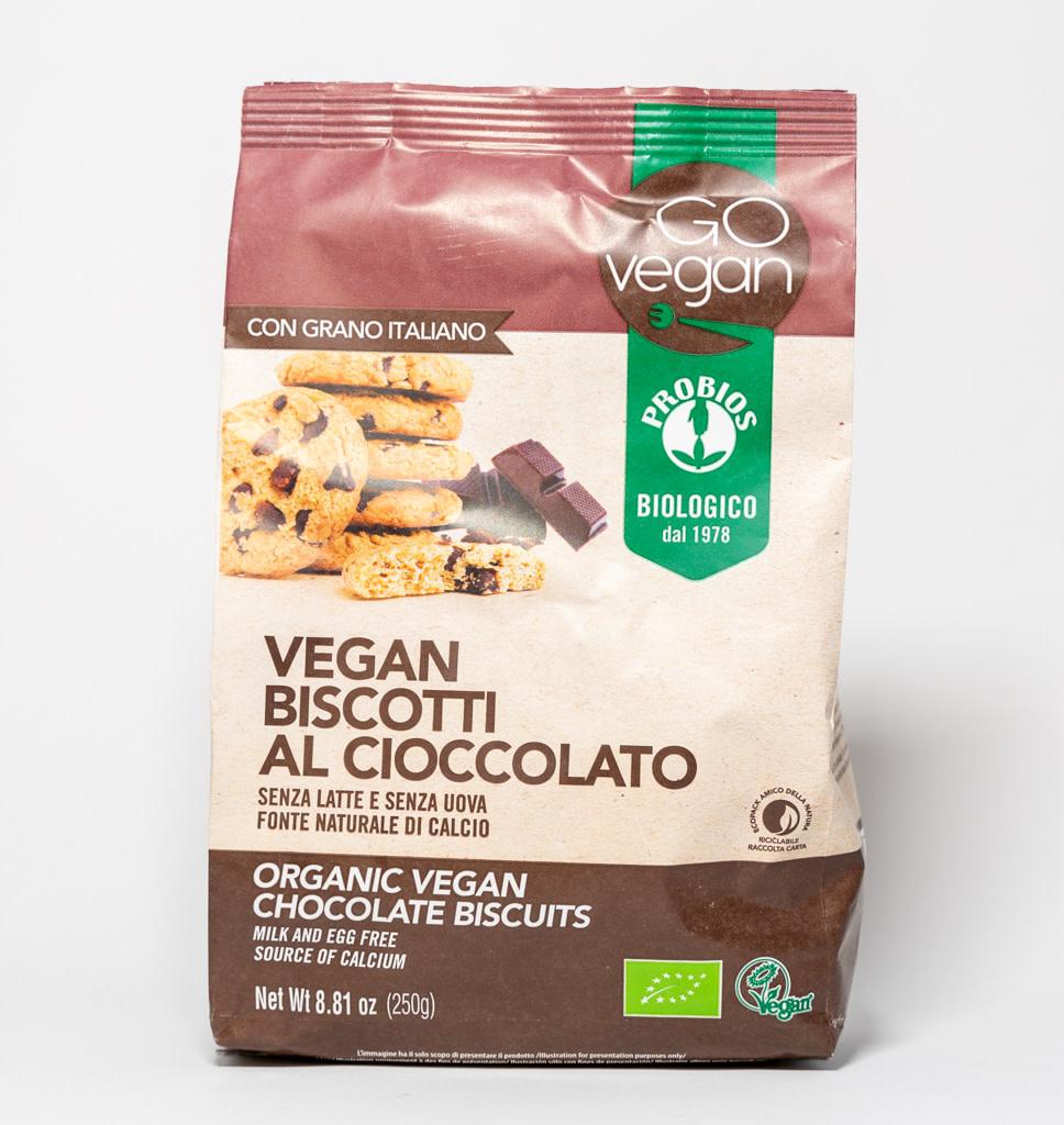 GOvegan GOvegan Vegan koekjes met chocoladedruppels