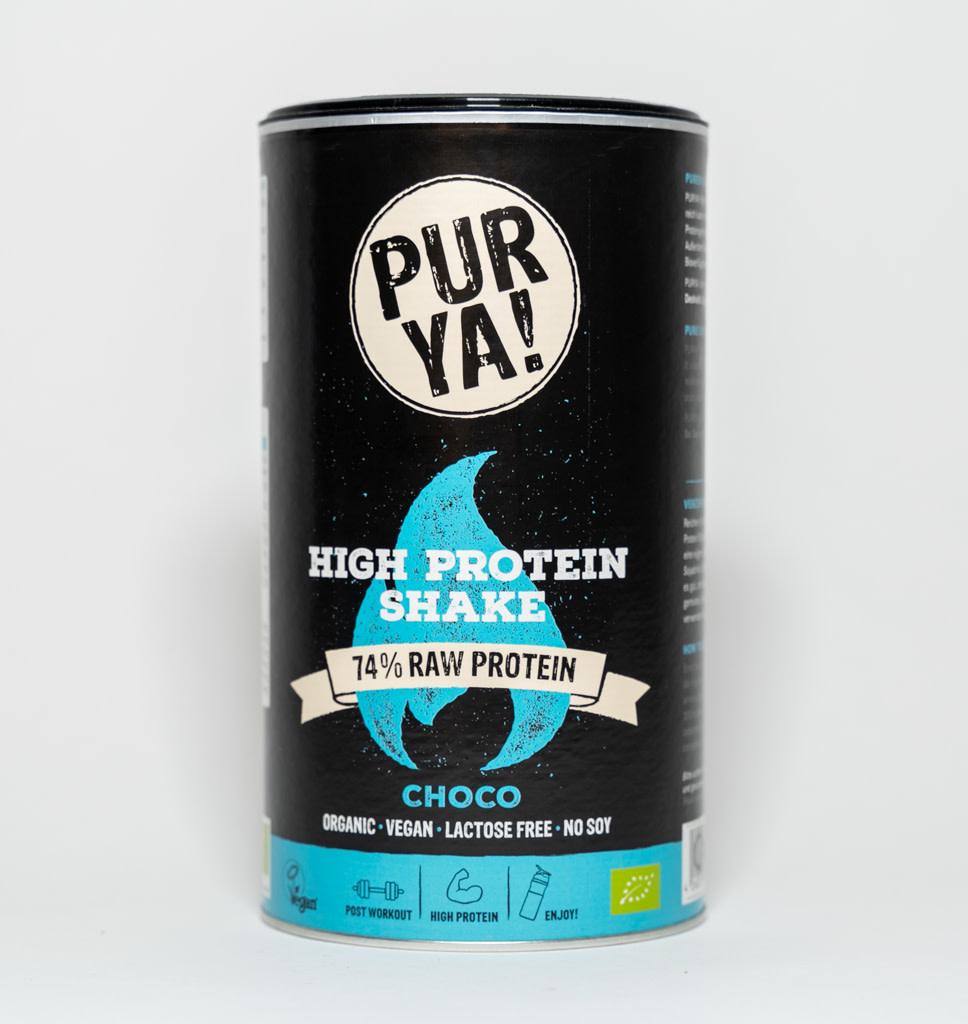 PurYa! PurYa! Vegan Eiwitrijke Choco Eiwit Shake 550g