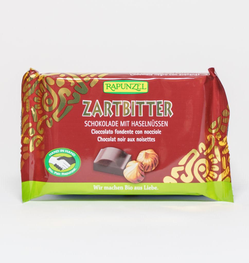 RAPUNZEL RAPUNZEL Dark Chocolate with Hazelnuts