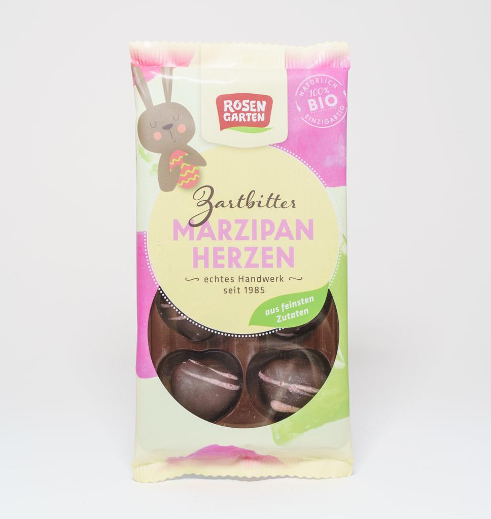 ROSEN GARTEN ROSEN GARTEN Easter Handmade Marzipan Dark Chocolate