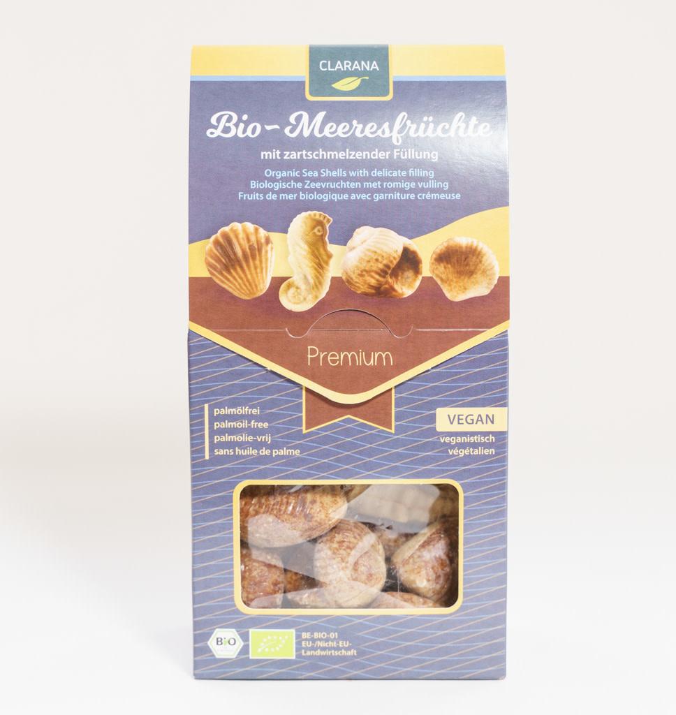 CLARANA Organic Sea Shells With Delicate Filling