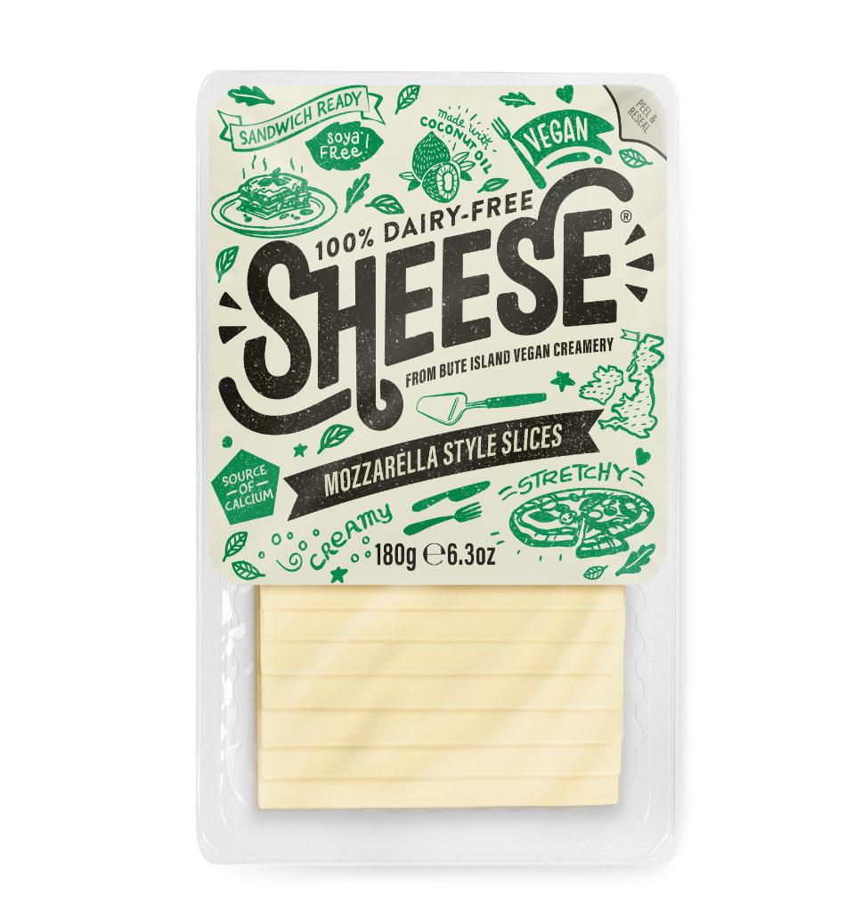 SHEESE SHEESE Gesneden Mozzarella