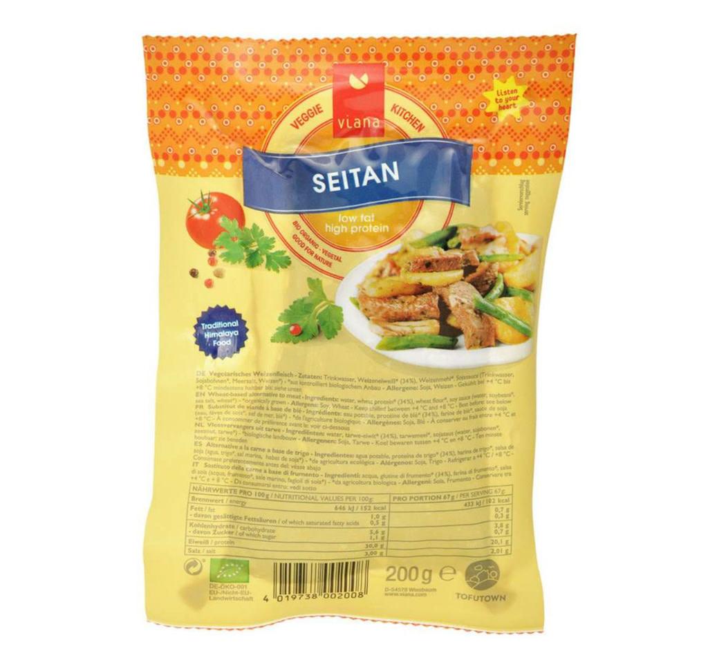 VIANA Organic Seitan