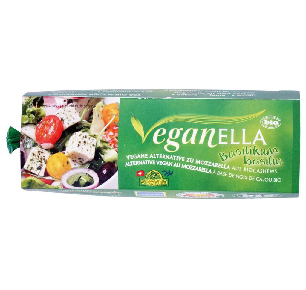 VEGANELLA Vegan Mozzarella - Basilic