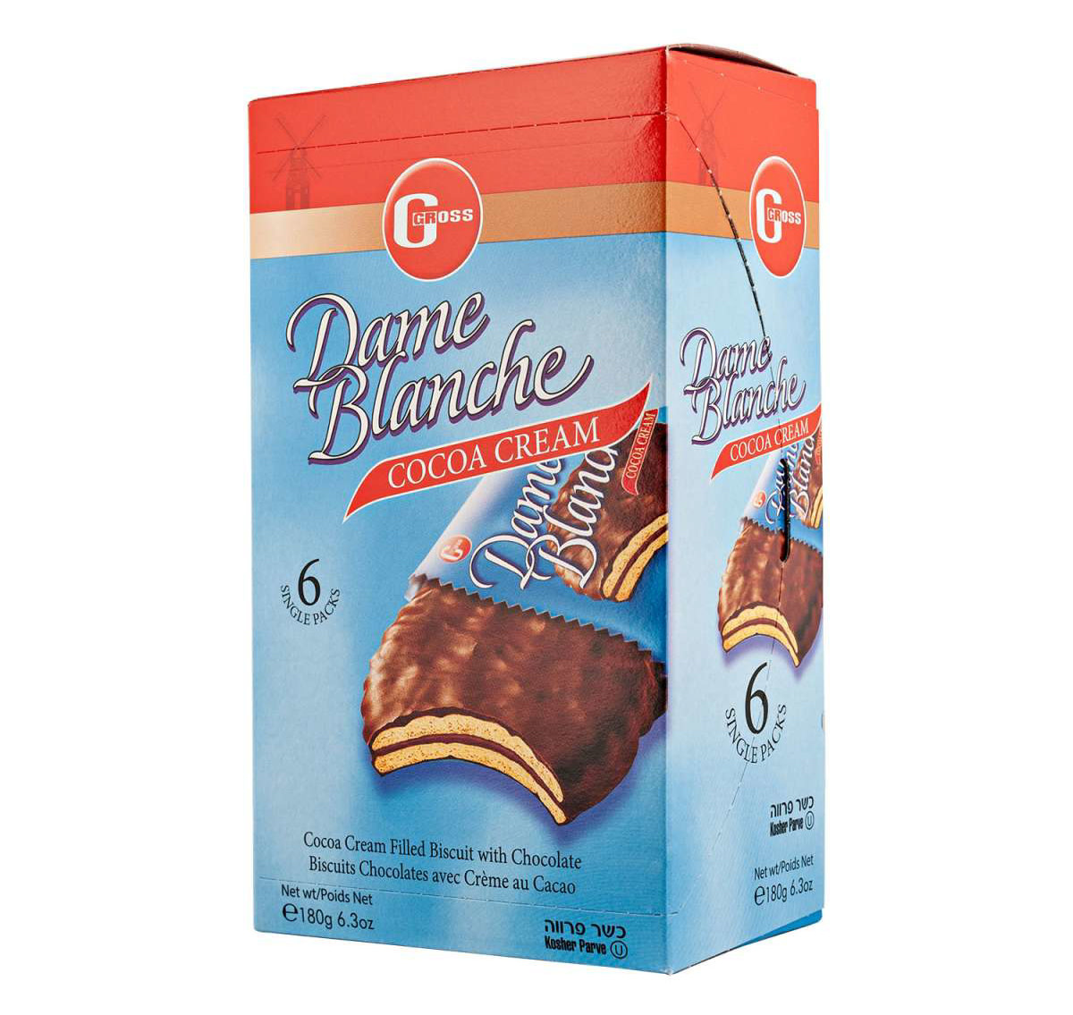 DAME BLANCHE Choco Cream Biscuits