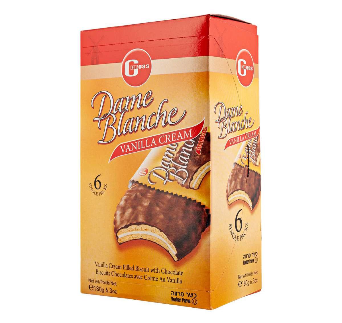 DAME BLANCHE Vanilla Cream Biscuits
