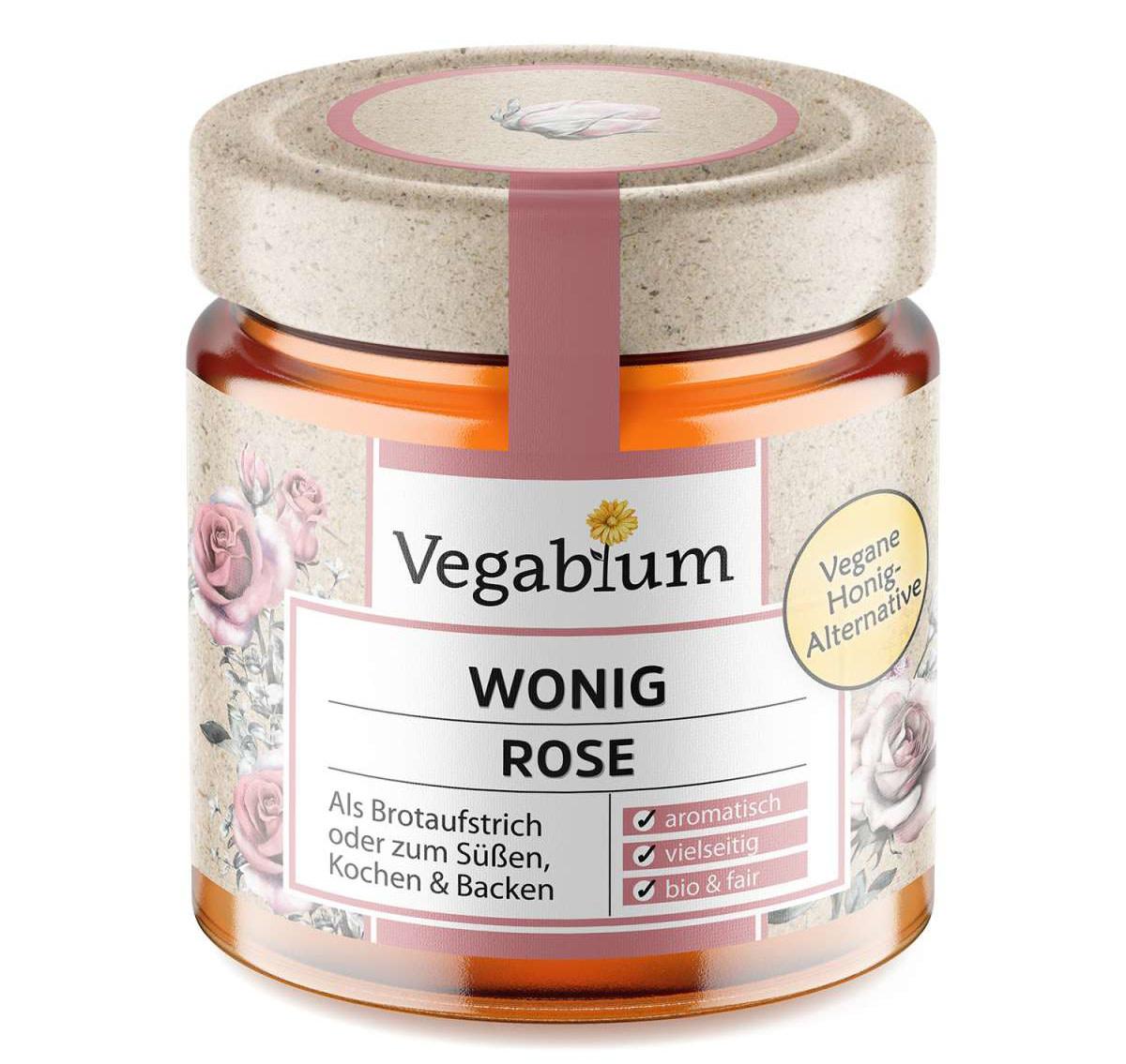 VEGABLUM VEGABLUM  Vegan Honing - Rose Flavor
