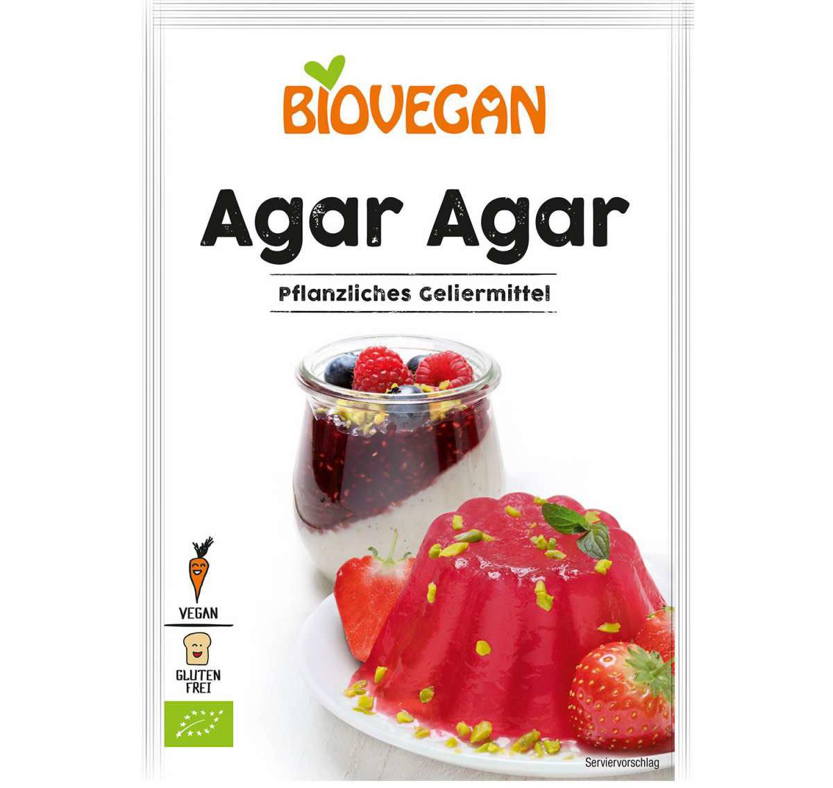 BIOVEGAN BIOVEGAN Organic Agar Agar